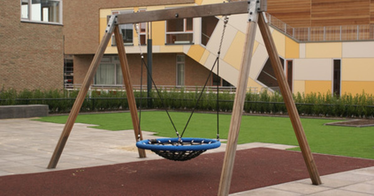 Unique outdoor swings for children ehow uk for Unique swings for kids
