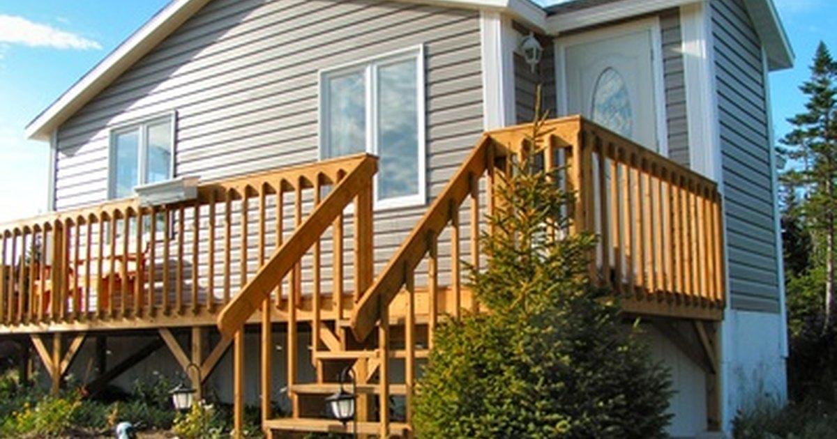 C mo construir un pasamanos para escaleras exteriores for Pasamanos de escaleras exteriores