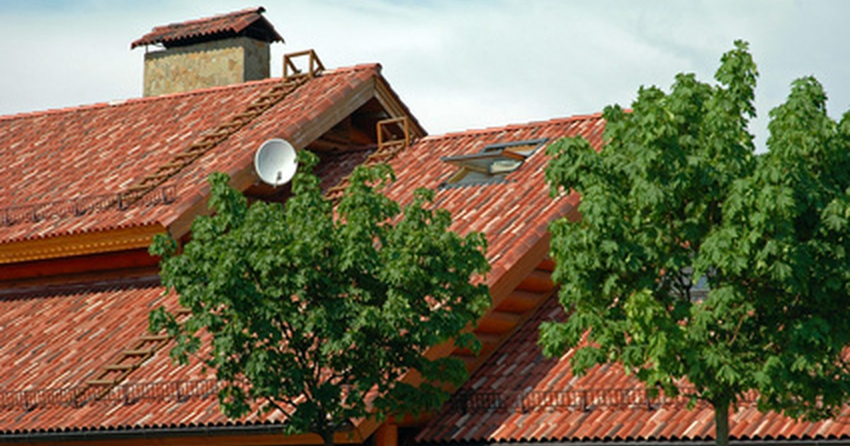 How to install cement roof tile ehow uk for Most expensive roof material