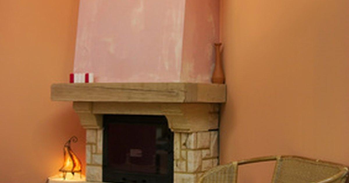 Ideas de dise o para una chimenea de esquina ehow en espa ol - Chimenea de esquina ...