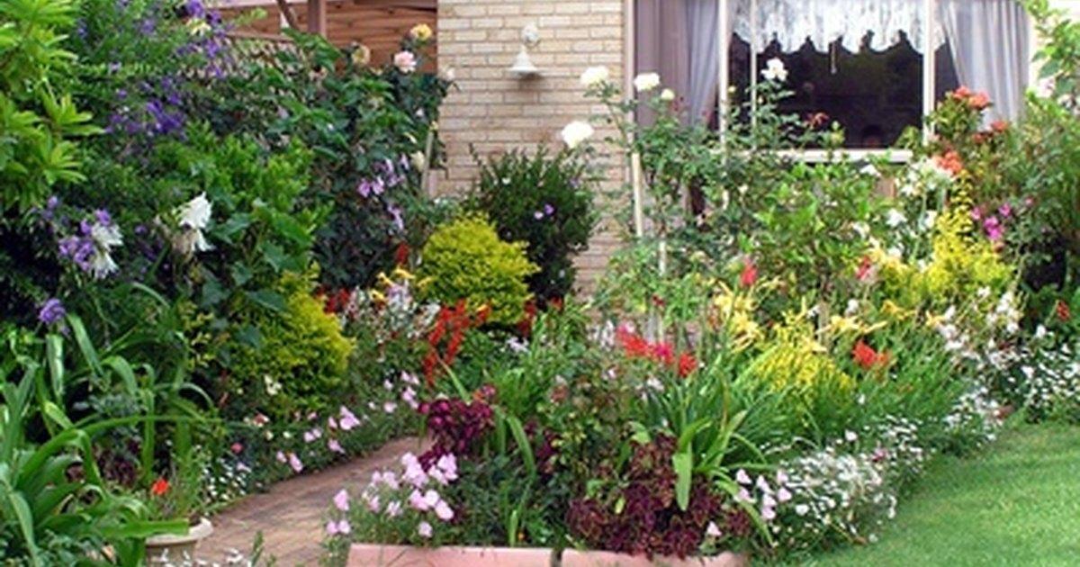 Planes para un jard n peque o en el patio trasero ehow for Como arreglar un patio pequeno crear un jardin