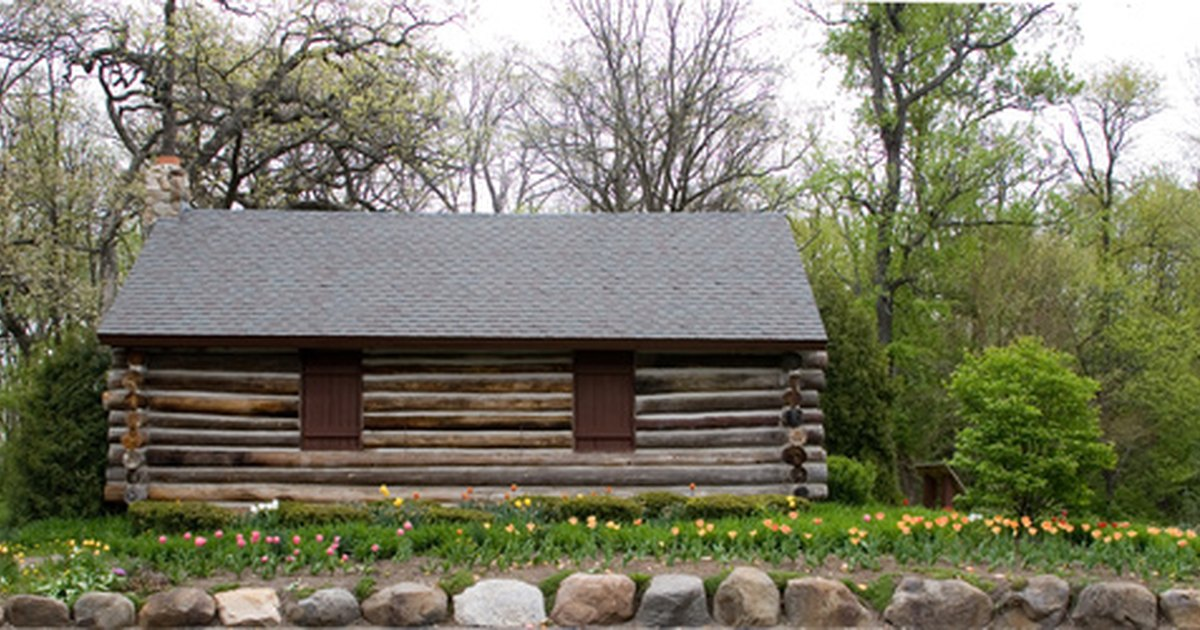 How To Build A Log Cabin Foundation Ehow Uk