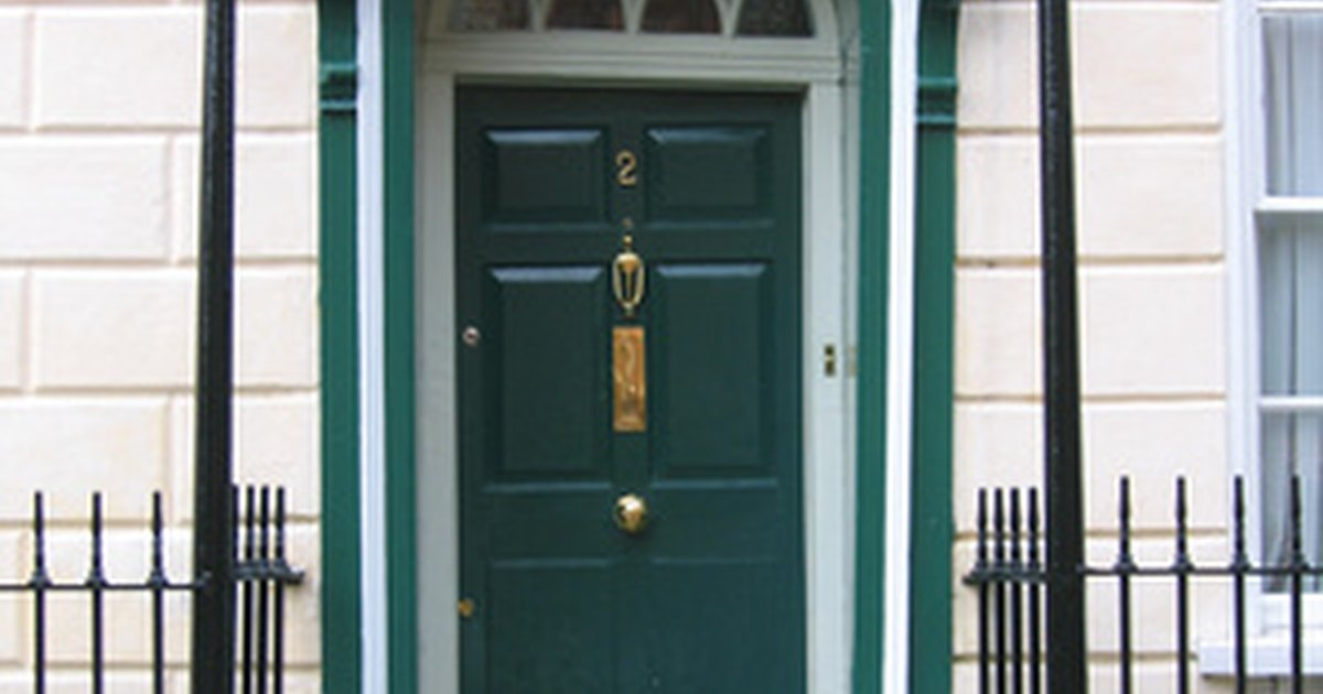 How To Widen A Frame For An Exterior Door Ehow Uk