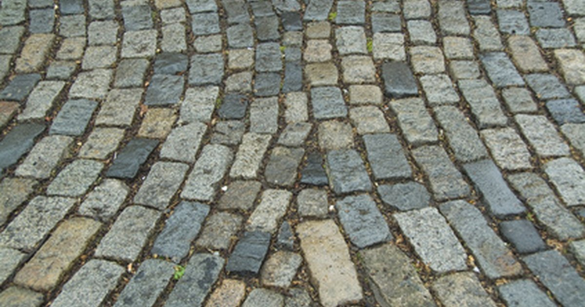 How to make your own cobblestone pavers ehow uk for Make your own cement