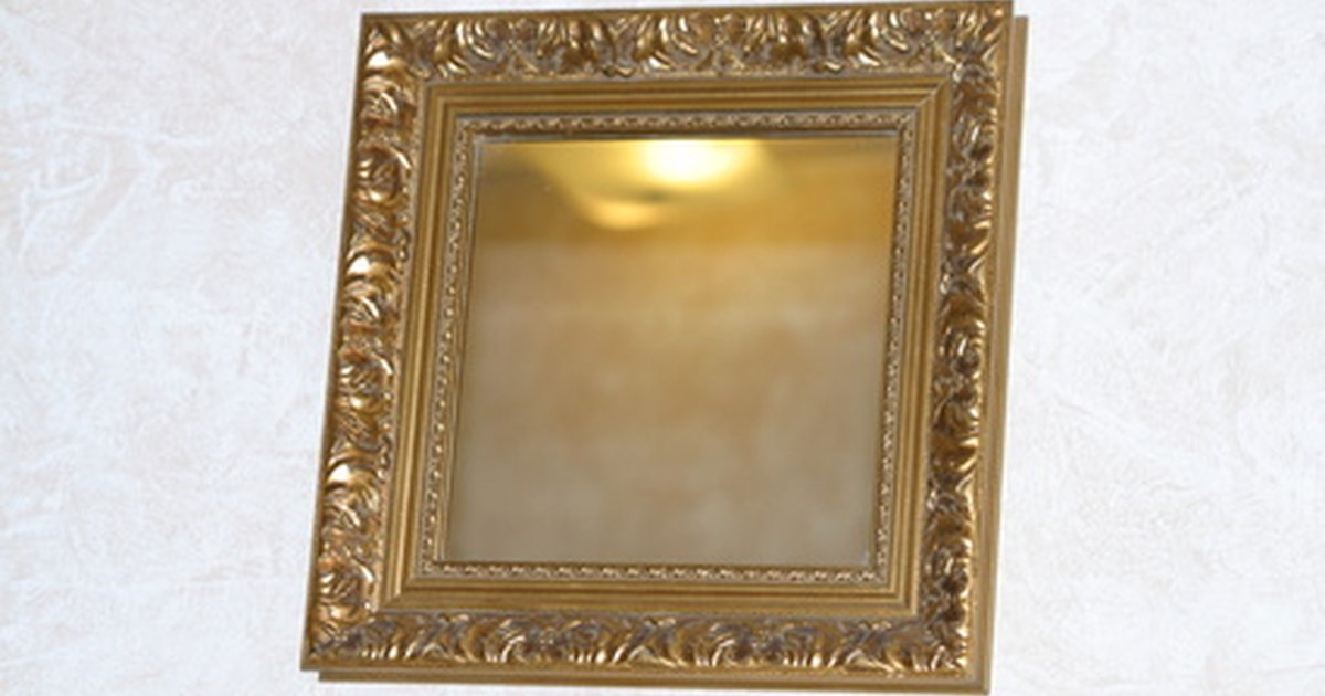 How to hang a heavy mirror on a plaster wall ehow uk for How hang heavy mirror