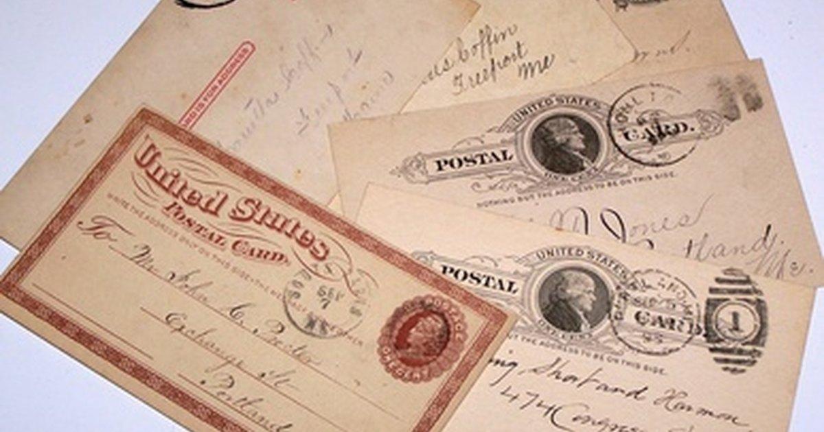 online vintage postcard research