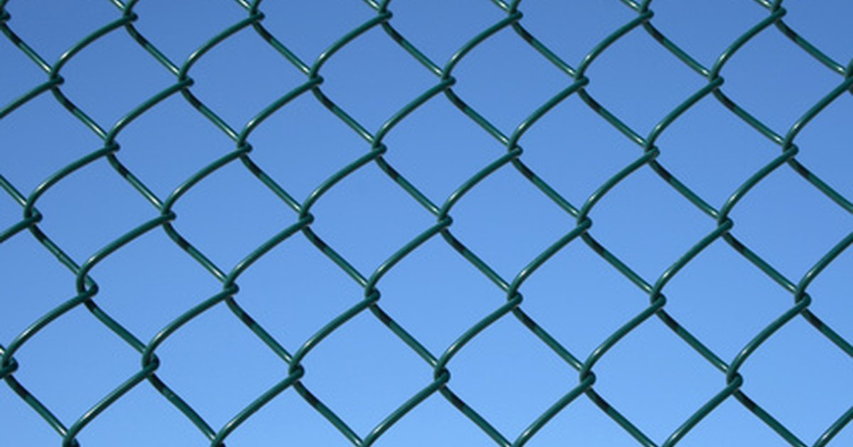 How To Fix The Bottom Of A Chain Link Fence To Keep Dogs