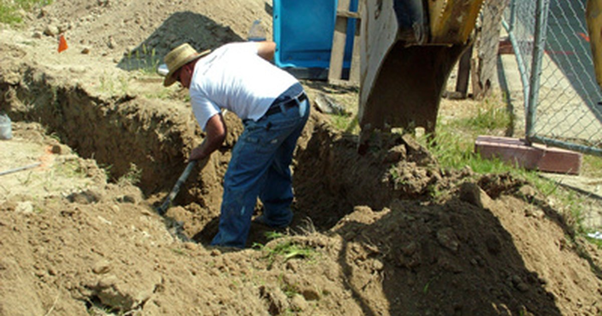 How To Install Drain Pipes For A Septic Tank Yourself