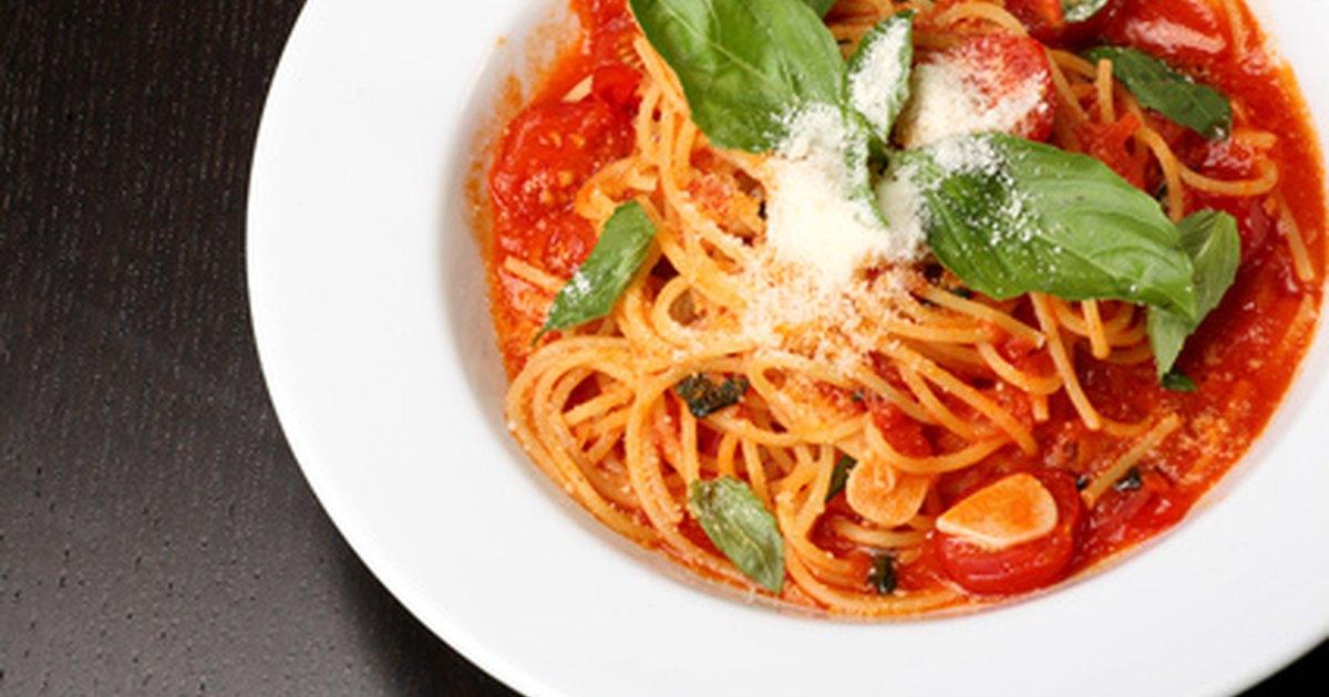 ¿Puede un diabético comer espaguetis?   LIVESTRONG.COM en