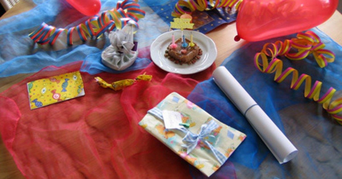 C mo hacer una fiesta de cumplea os con tem tica del arca - Como preparar una fiesta de cumpleanos ...