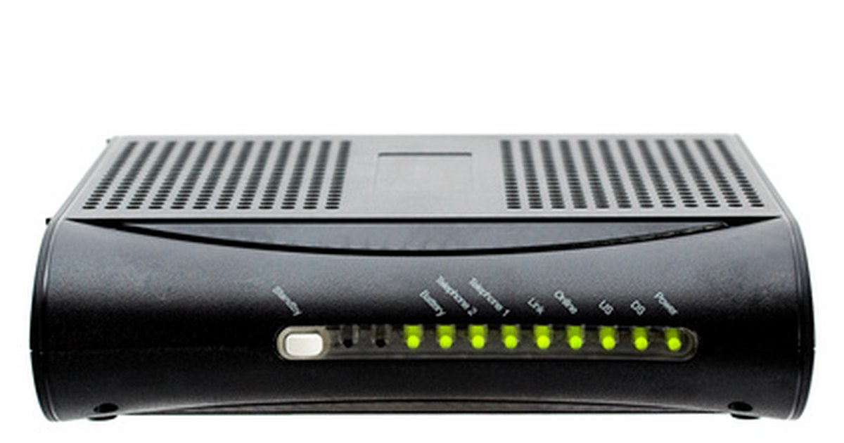 how to connect hardrive to a arris modem