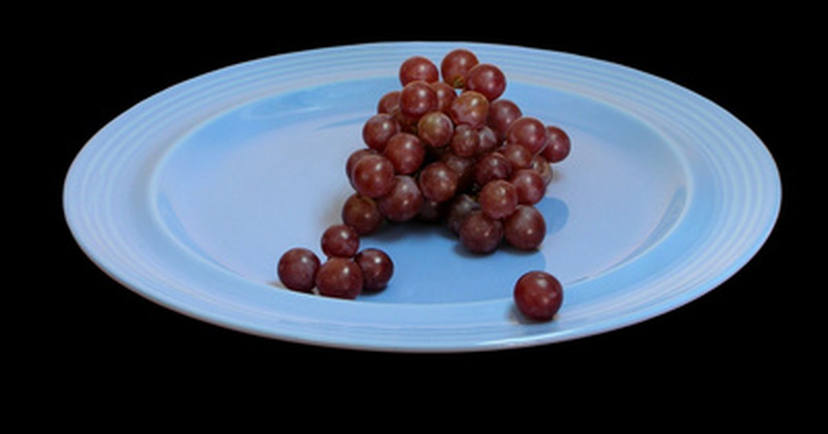 Contenido de azúcar de las uvas rojas sin semillas | eHow
