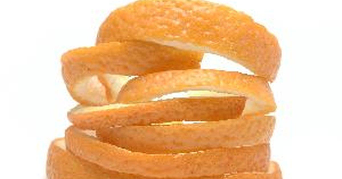 how to eat orange peel