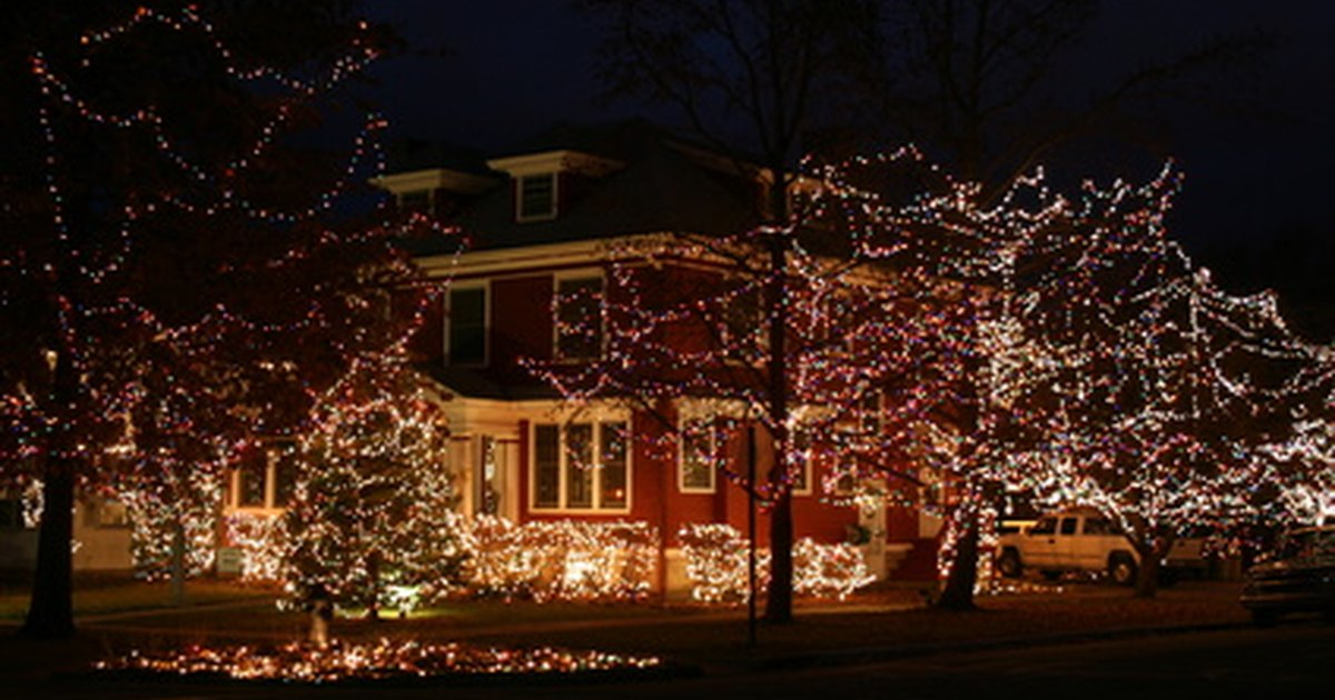 Christmas Outdoor Lighting Decoration Ideas EHow UK