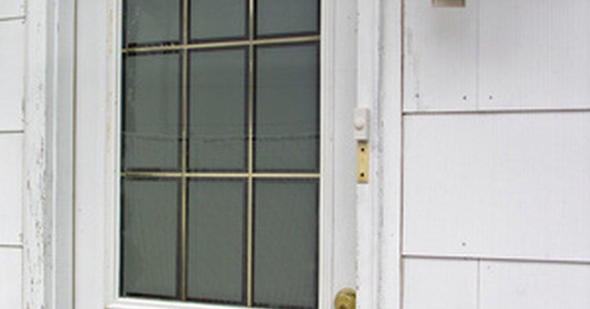 Medidas est ndar de puertas exteriores ehow en espa ol for Puertas galvanizadas medidas