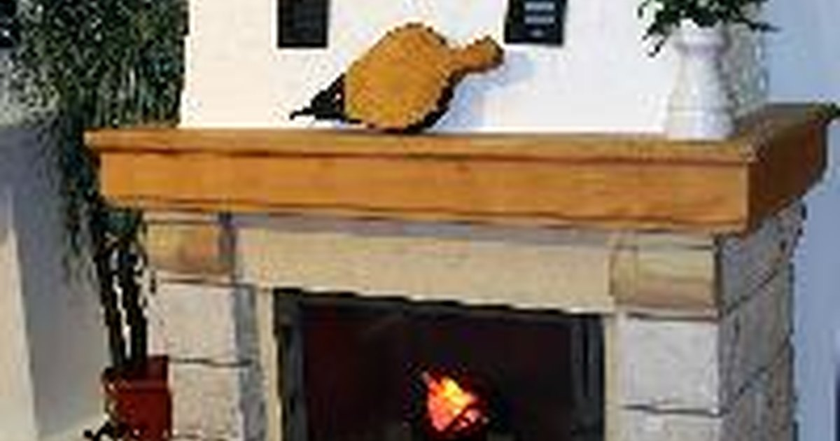 Ideas For What To Put On A Fireplace Mantel Ehow Uk