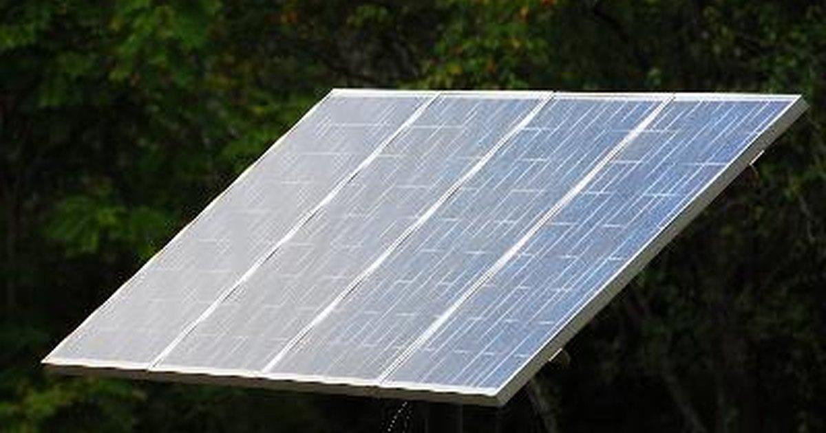 C mo reparar un panel solar quebrado ehow en espa ol for Panel solar pequeno