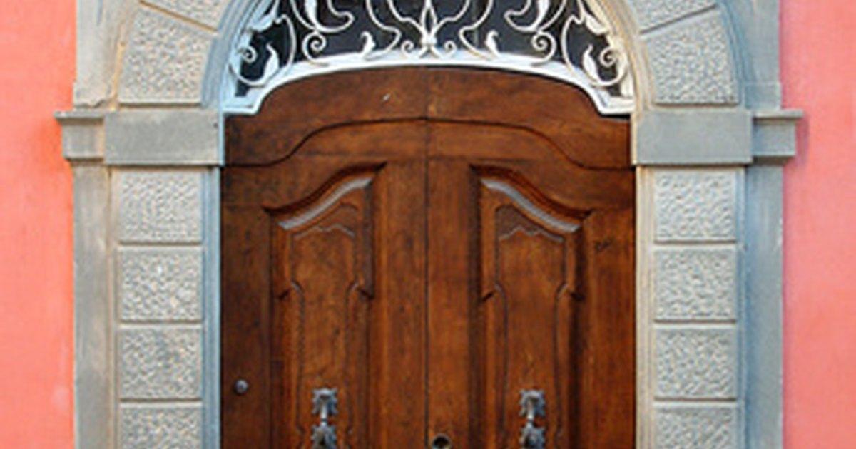 C mo limpiar puertas de madera ehow en espa ol - Como limpiar puertas de madera ...