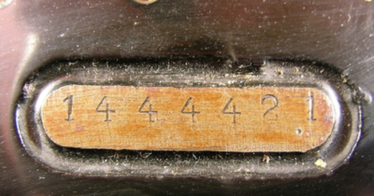 singer sewing machine model number location