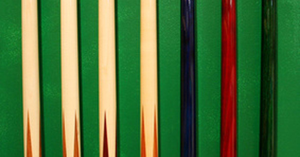 How to build a pool stick rack ehow uk for Pool cues design your own