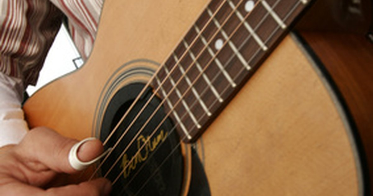 how to install an acoustic guitar pickup system ehow uk. Black Bedroom Furniture Sets. Home Design Ideas