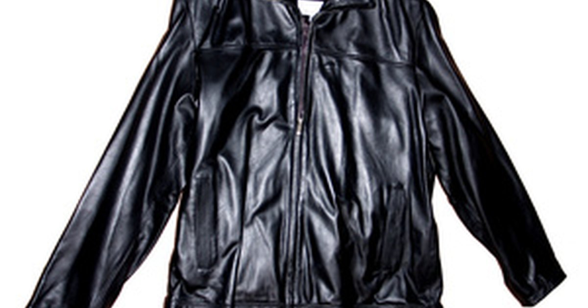 How to repair leather jacket