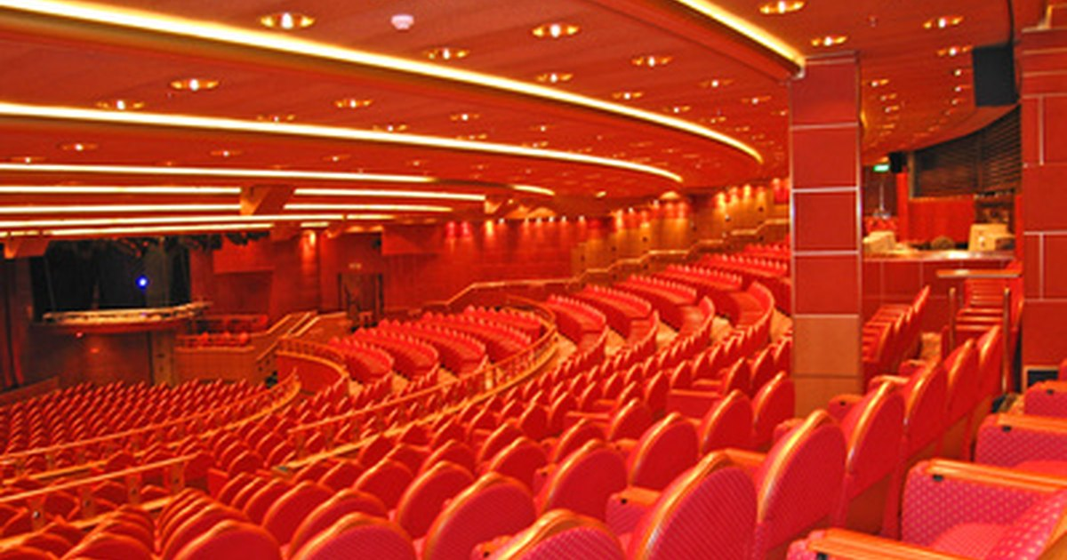 How To Plan Auditorium Seating Ehow Uk