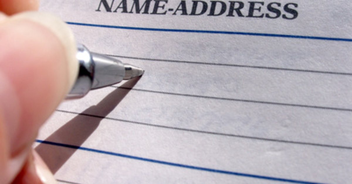 how to change address on medical card