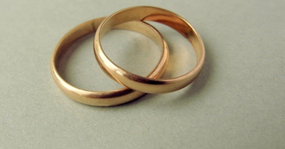 Repair Squashed Ring