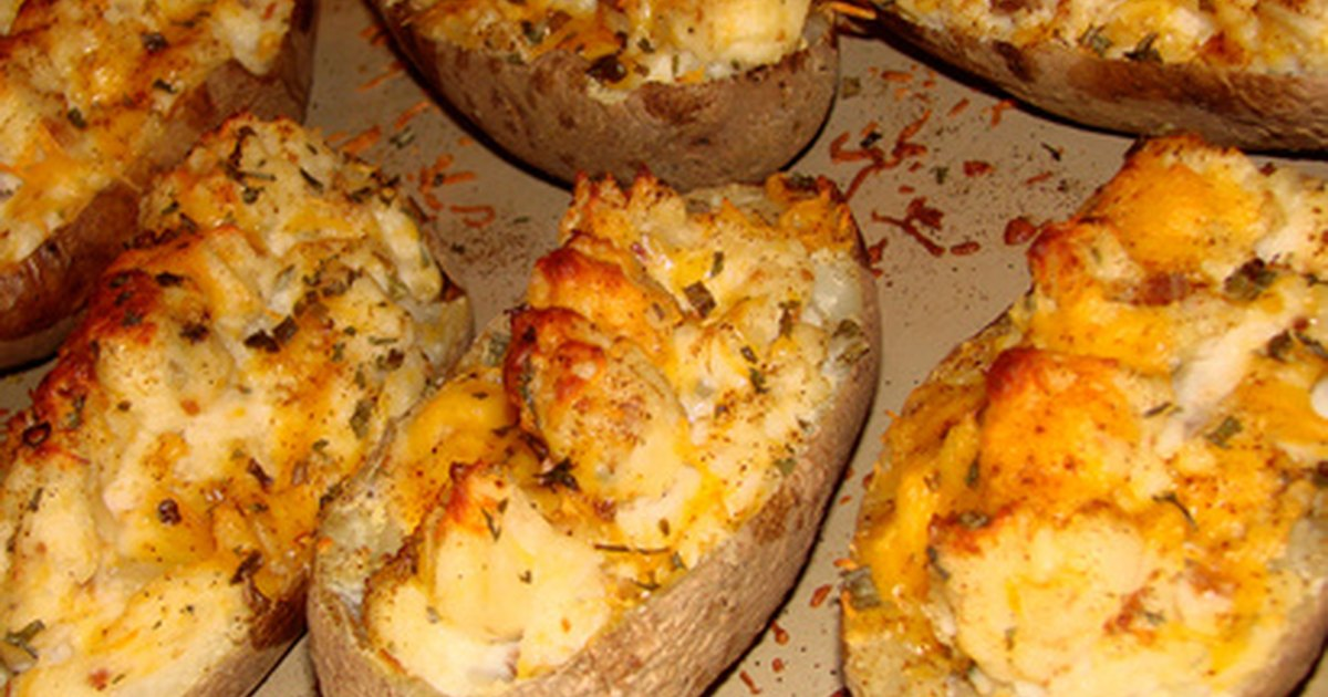 how to make twice baked potatoes without sour cream