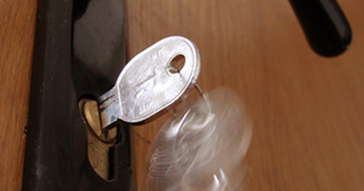 How To Unlock A Door Lock Ehow Uk