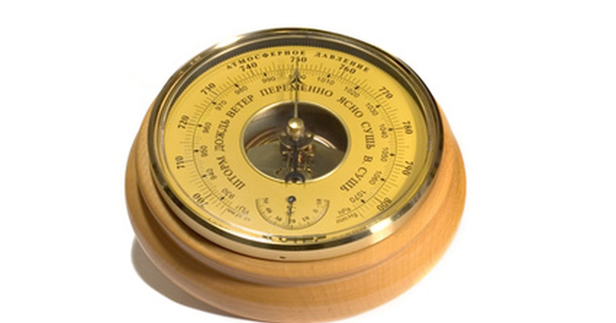 How to Lubricate Sticking Barometers