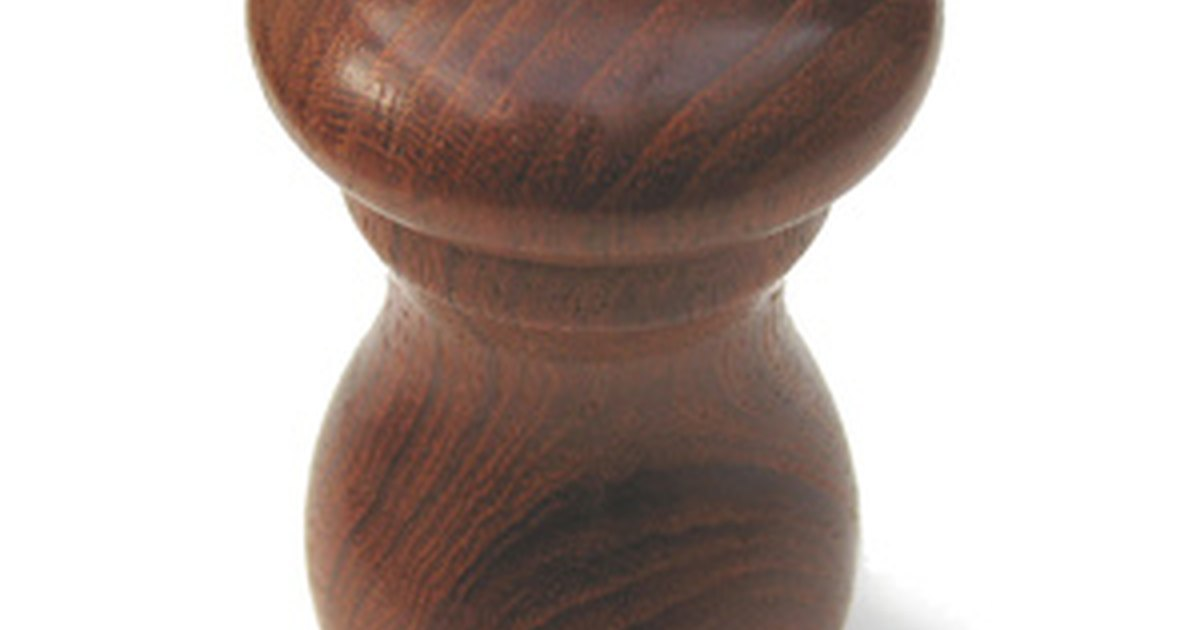 how to make segmented pepper mills