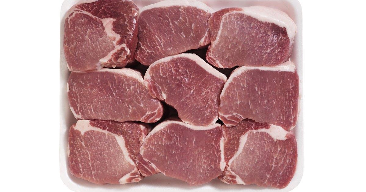 C mo cocinar chuletas de cerdo en el microondas for Como cocinar navajas frescas