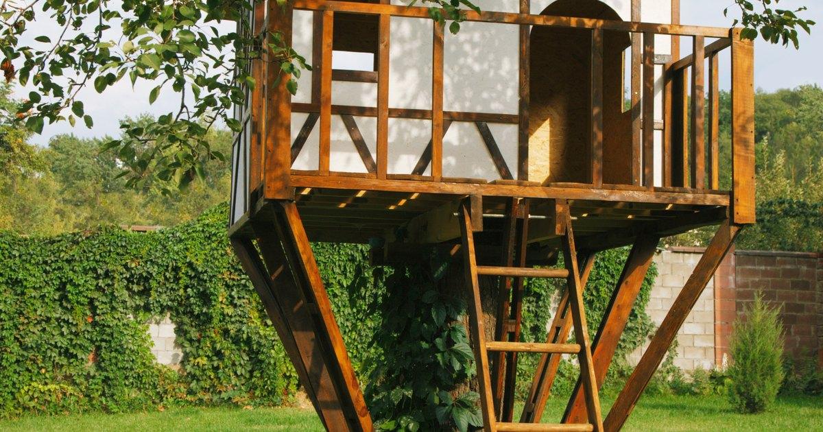 C mo construir una casita del rbol sencilla pero genial - Casitas en el arbol ...