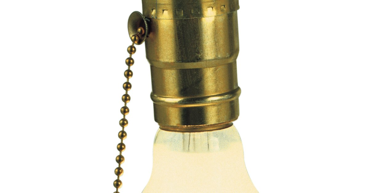 How To Install Pull Chain Light Fixtures Ehow Uk