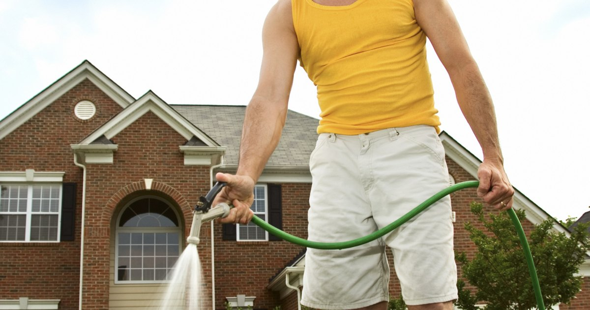 How to hook up a karcher power washer with a water feed - Turn garden hose into pressure washer ...