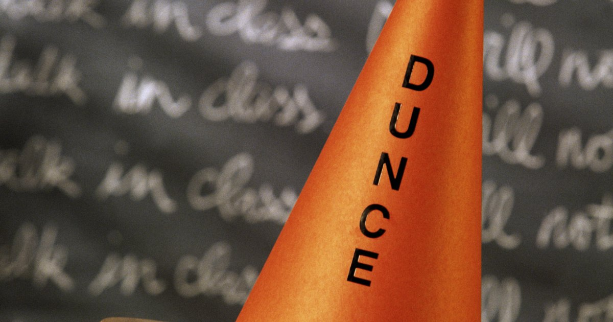 How To Make A Paper Dunce Hat