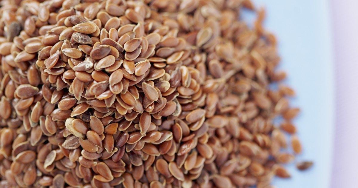 C mo preparar las semillas de lino dorado molidas para for A comer en frances