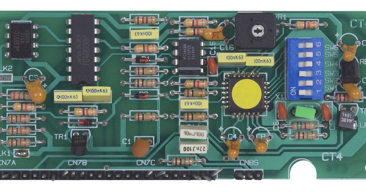 Circuito Integrado Simbolo : Cómo utilizar un circuito integrado temporizador