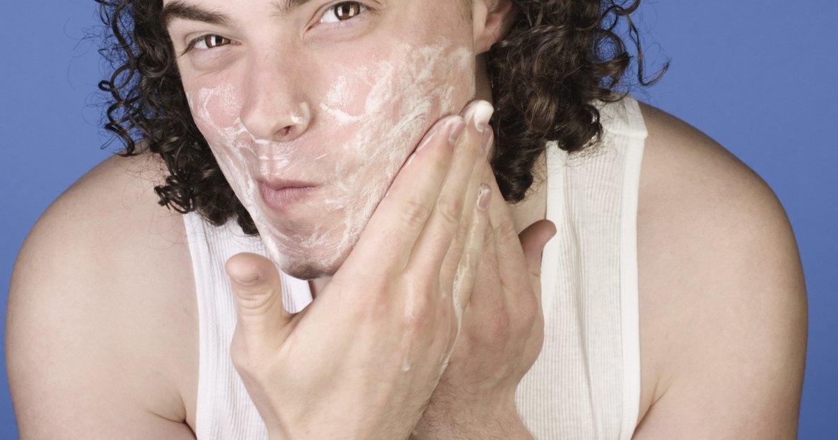 Piel seca alrededor de la nariz y la boca
