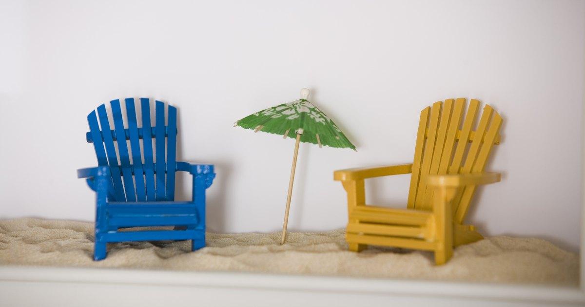 Miniature Wooden Adirondack Chair Crafts Ehow Uk