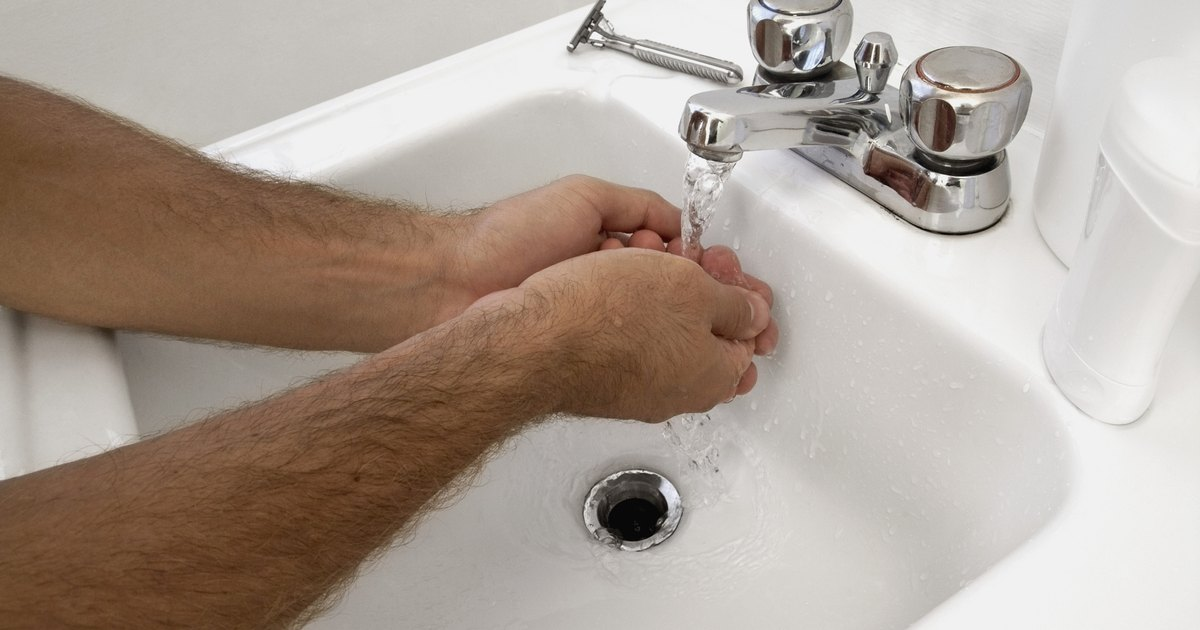 A mold smell from a bathroom sink drain ehow uk - Sewer gas smell in kitchen sink ...
