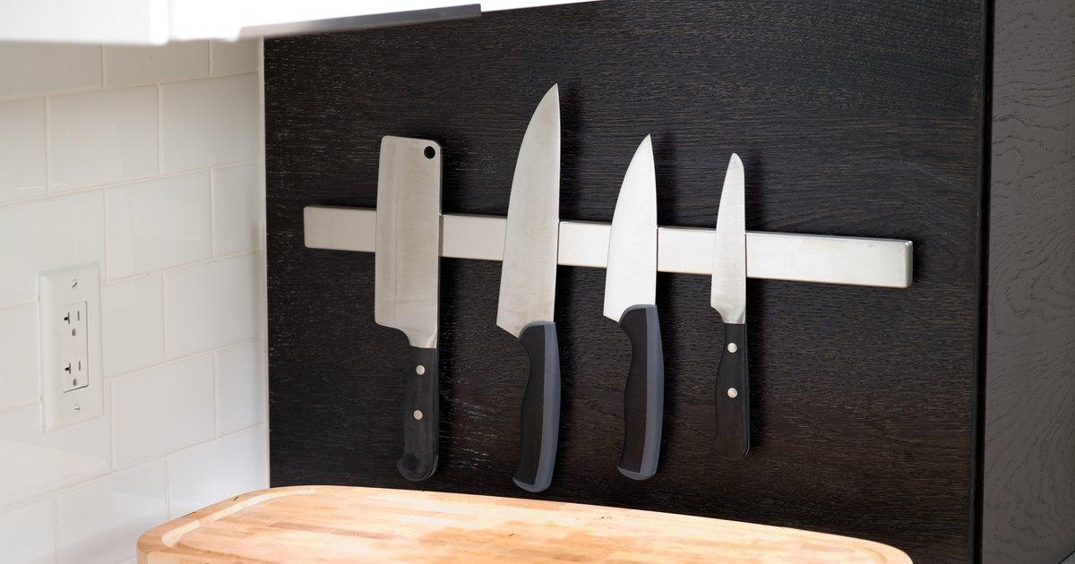 C mo hacer un soporte para cuchillos de cocina ehow en - Como hacer soporte para cuchillos ...