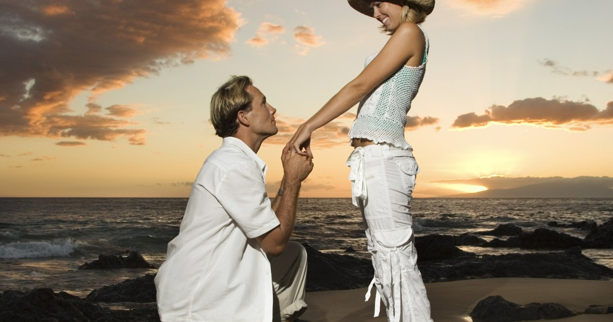 Beach Marriage Proposal Ideas