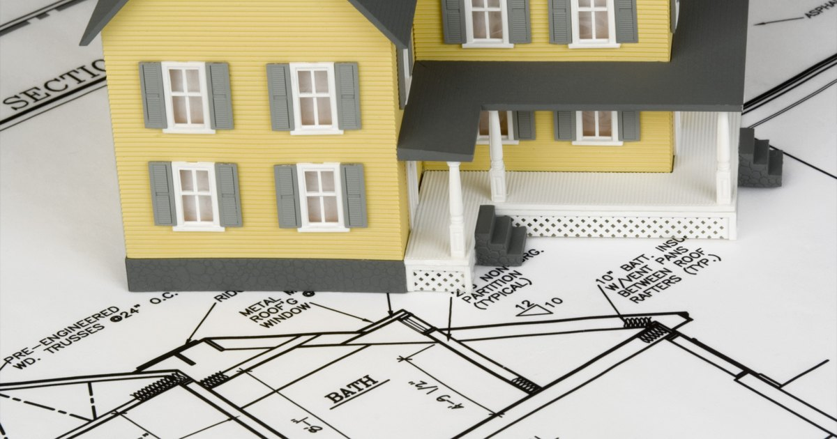 C mo buscar los planos arquitect nicos de tu casa ehow for Planos para tu casa