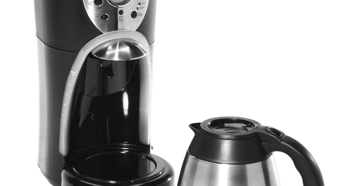 Drip Coffee Maker Problems : Leaking Water From a Cuisinart Coffee Maker eHow UK