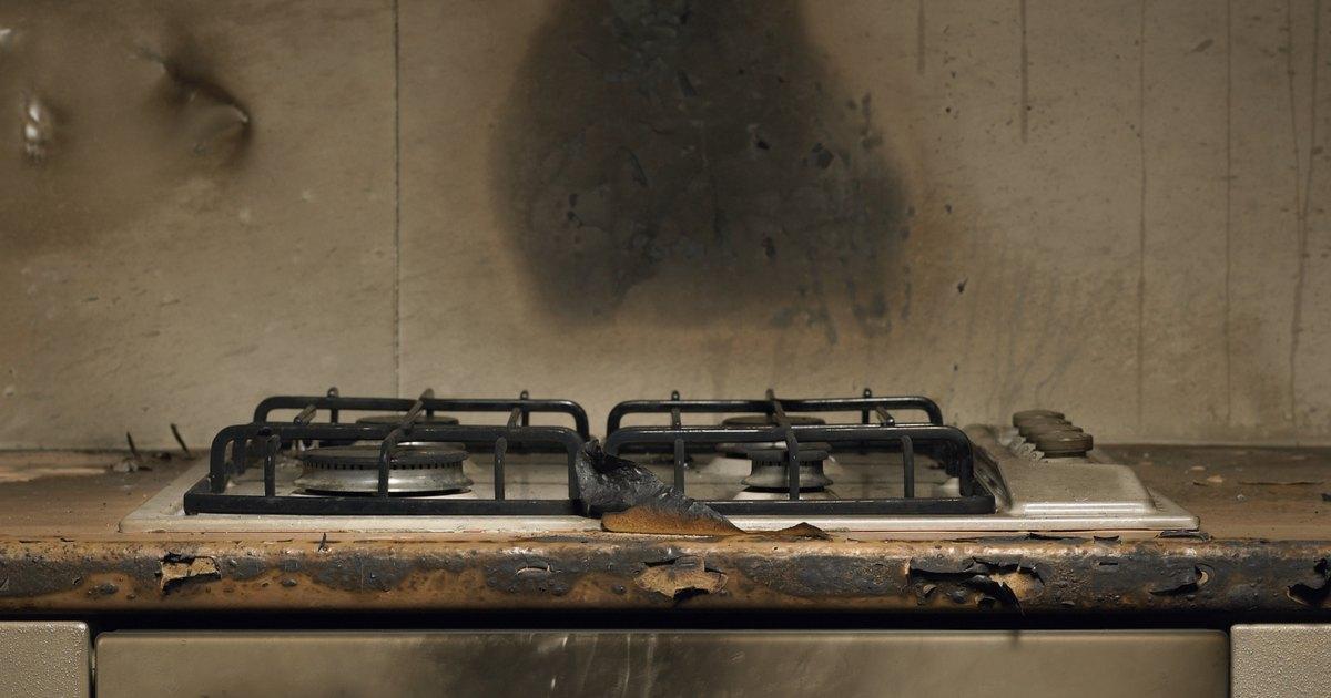 C mo limpiar una estufa de gas ehow en espa ol - Limpiar quemadores cocina gas ...