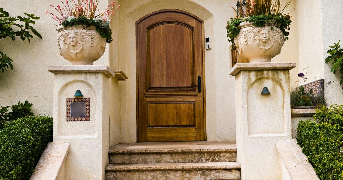 C mo reparar f cilmente un marco de madera de una puerta for Como arreglar una puerta de madera