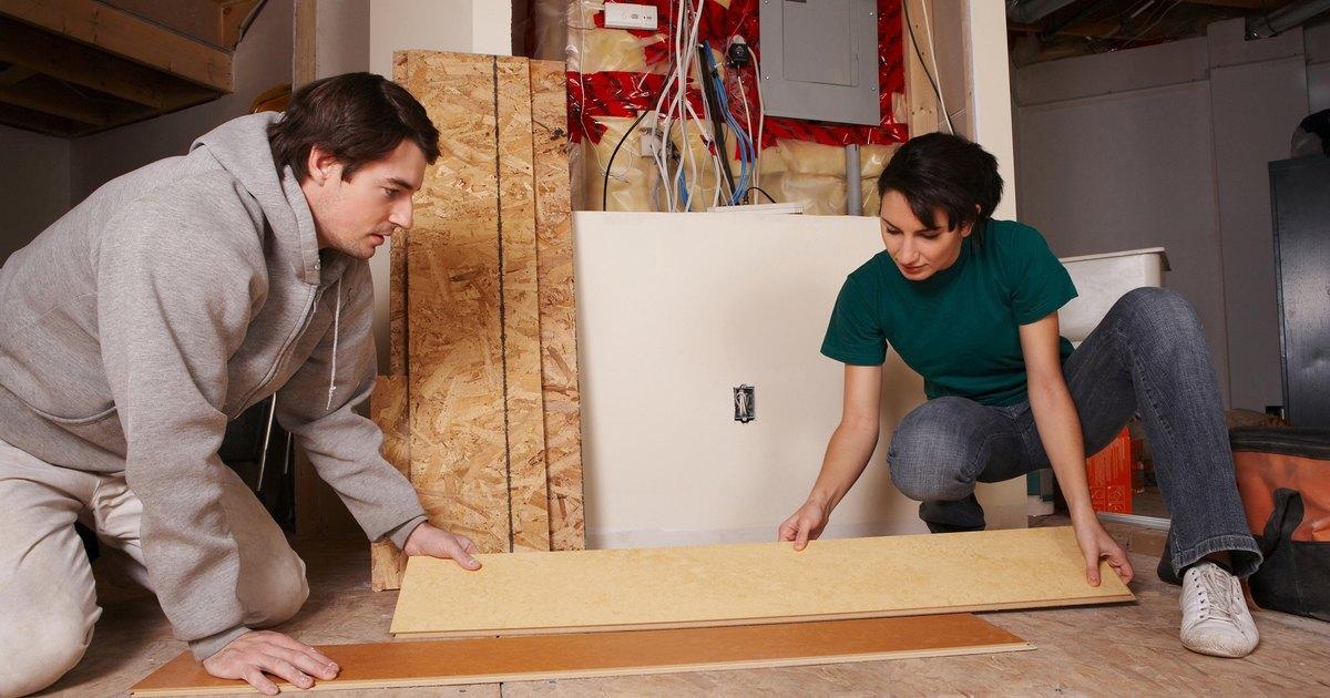 Se puede instalar piso laminado sobre madera de - Se puede empapelar sobre gotele ...